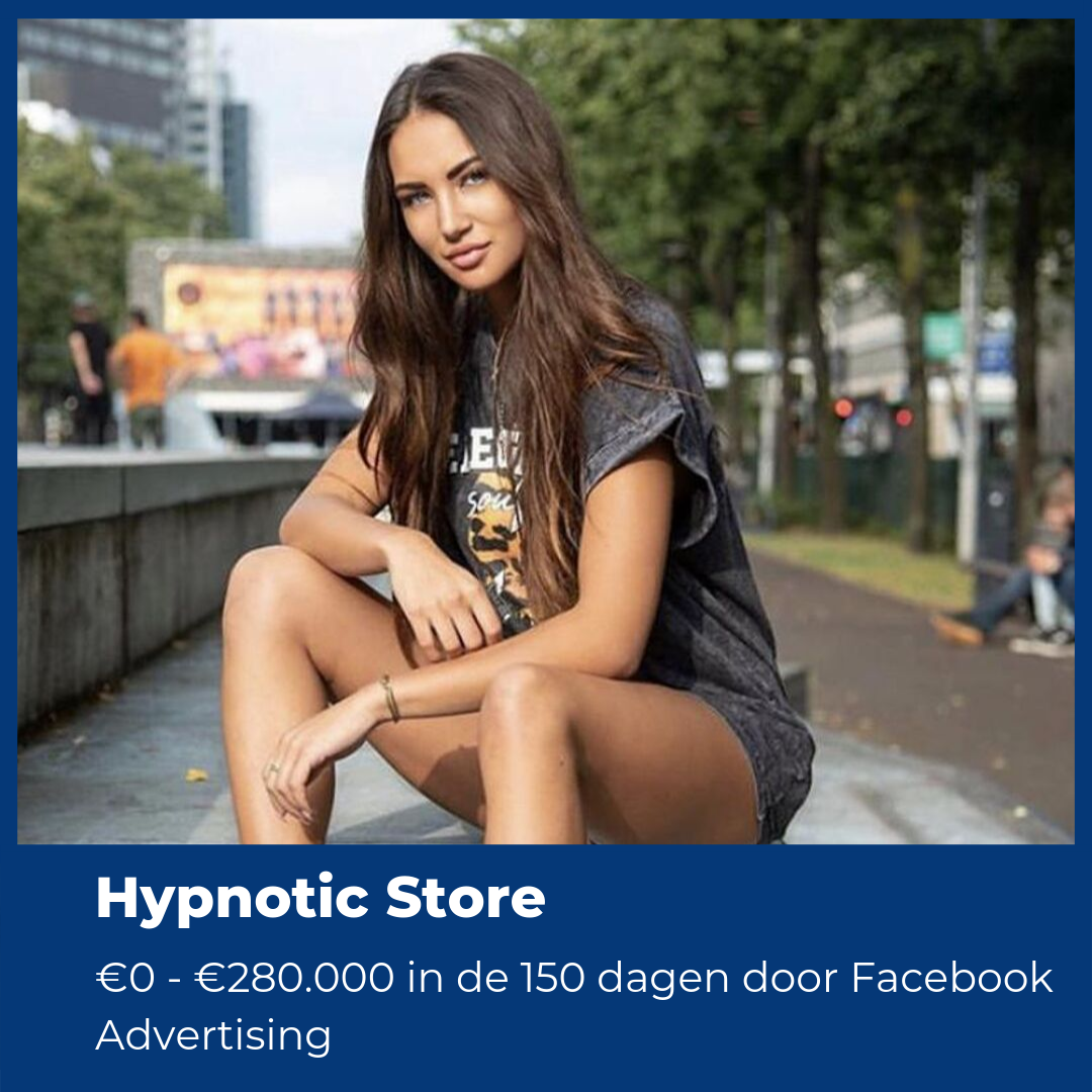 Hypnotic Store Case Study facebook advertising