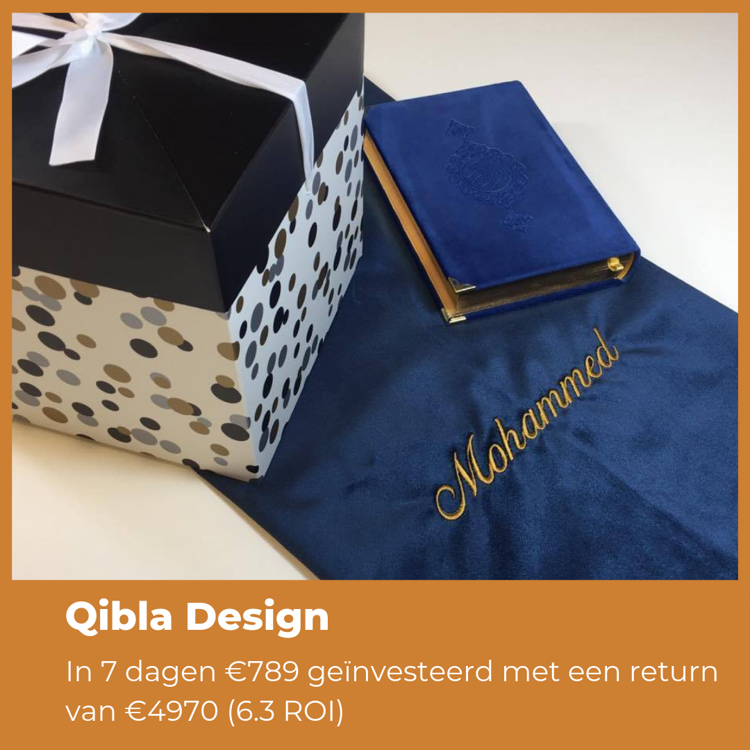 Qibla Design Case Cover Online Marketing